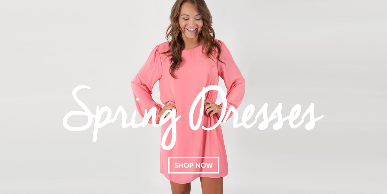 1-17 Spring Dresses