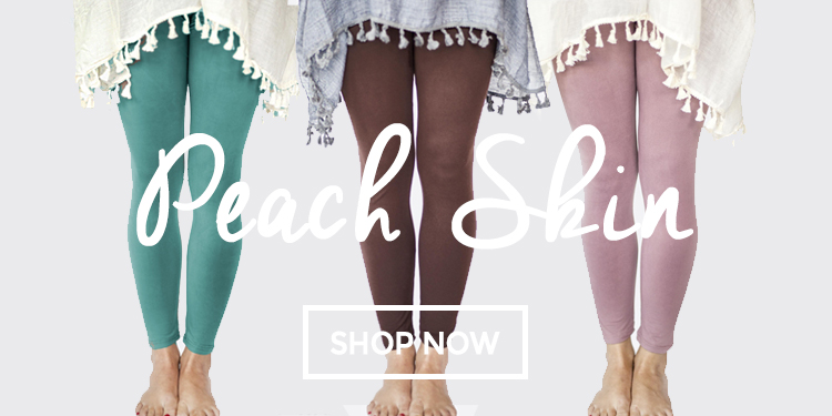 2-18 Peach Skin Leggings