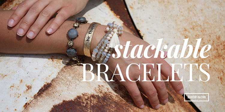 Stackable bracelets (small)
