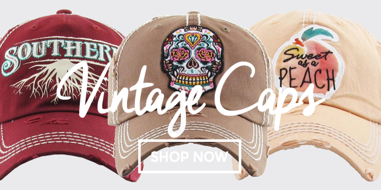 10-18 Vintage Caps