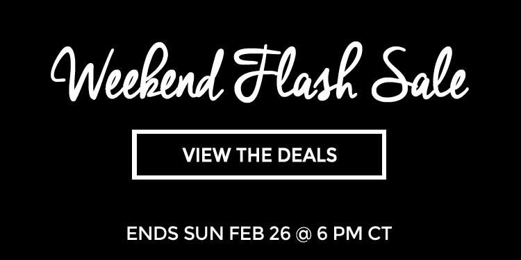 70% Off Weekend Flash