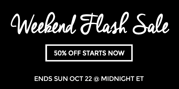 Weekend Flash Sale 10/20