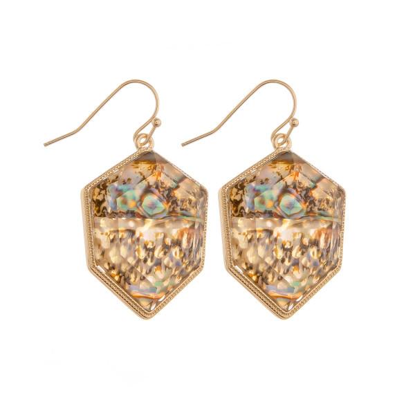 Wholesale short fishhook earring crystal detail Approximate