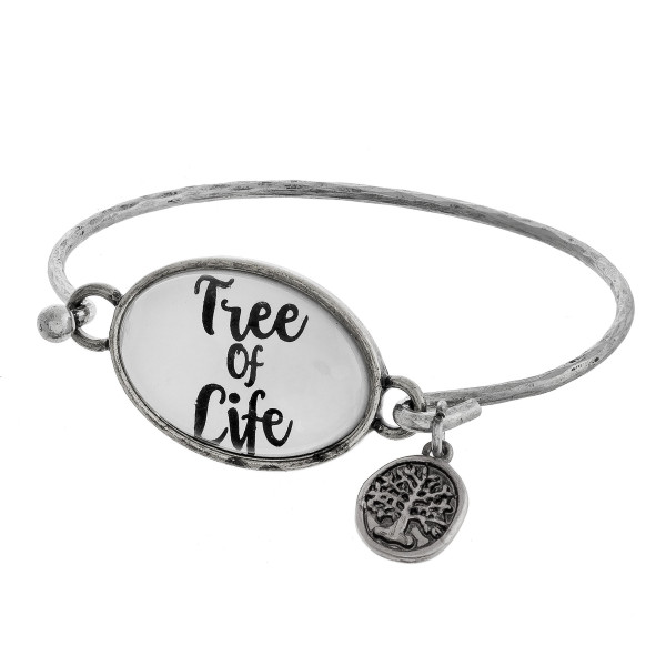 Wholesale cuff bracelet charms positive message Approximate diameter