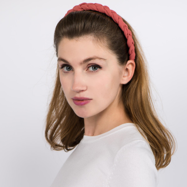 Do everything in Love brand braided headband.  - One size fits most - 100% Polyester