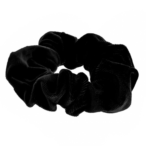 Do everything in Love brand solid color velvet hair scrunchie.  - One size fits most - 100% Polyester