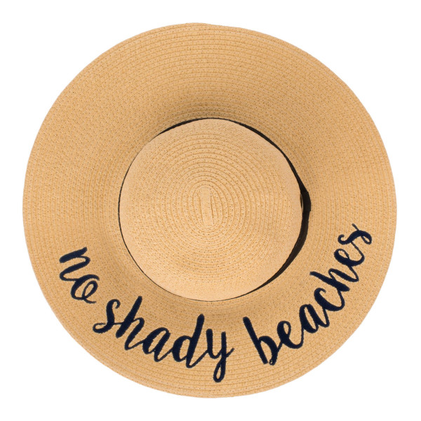 Wholesale c C ST brim floppy beach hat no shady beaches hat crushable packable a