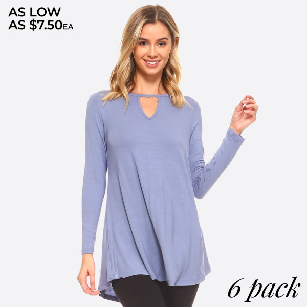 754269424bb57 Wholesale swing silhouette flatters every figure o Lightweight jersey tunic  o C