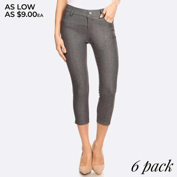 The Original is your standard 5-pocket capri jegging. With a classic silhouette construction, the Original is smooth, stretchy, and fits like a glove.