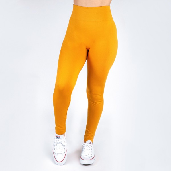 Wholesale kathy Mix mustard summer weight leggings seamless chic must have ever