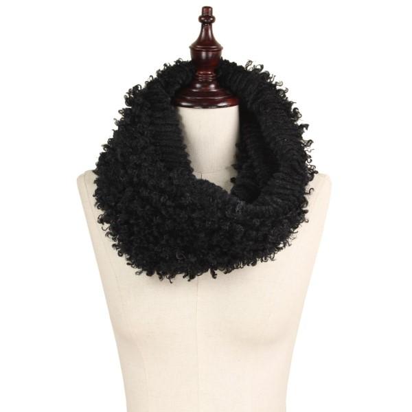 """Faux fur tube scarf. 100% polyester. Size: 7.5""""W x 15""""L"""