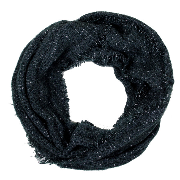 Solid infinity scarf. 100% acrylic.
