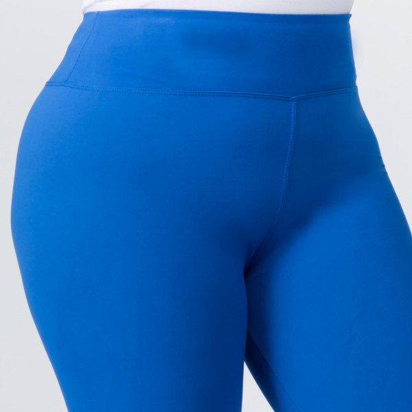 """These plus size New Mix Brand peach skin leggings are seamless, chic, and a must-have for every wardrobe. These lightweight, full-length leggings have a 3"""" waistband. They are versatile, perfect for layering, and available in many colors. 92% Polyester 8% Spandex. One size, fits US women's 16-20."""