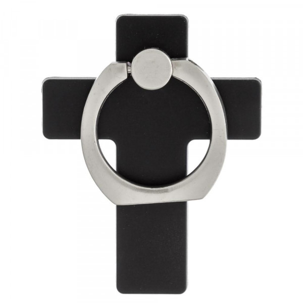 Wholesale cross cell phone finger holder degree rotation ring stand Includes car