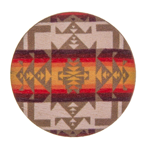 """Accessorize your phone grip with this wood decorative peel and stick charm featuring western inspired details. Approximately 1.5"""" in diameter. Fashion charms can be used for the following:  - Laptops - Refrigerator Magnets - On DIY Home Projects - Car Dashboard - And anywhere you can Imagine"""