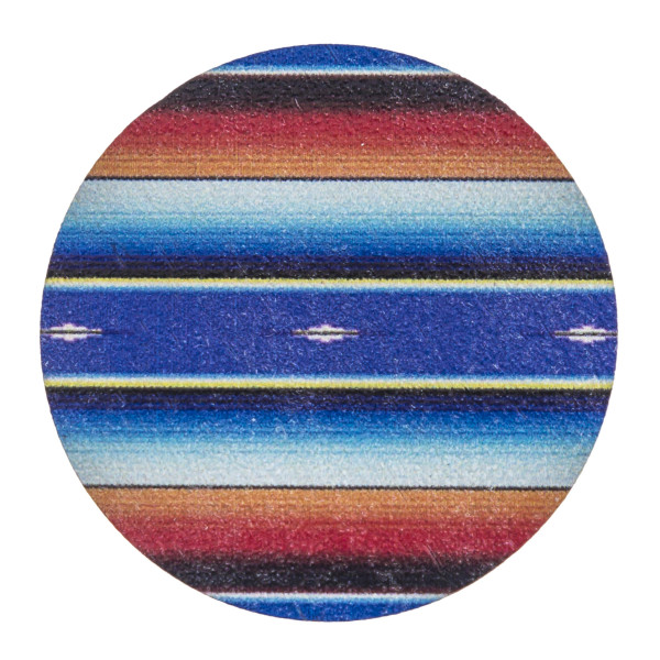 """Accessorize your phone grip with this wooden serape tribal print peel and stick charm. Approximately 1.5"""" in diameter. Fashion charms can also be used for the following:  - Laptops - Refrigerator Magnets - On DIY Home Projects - Car Dashboard - And anywhere you can Imagine"""