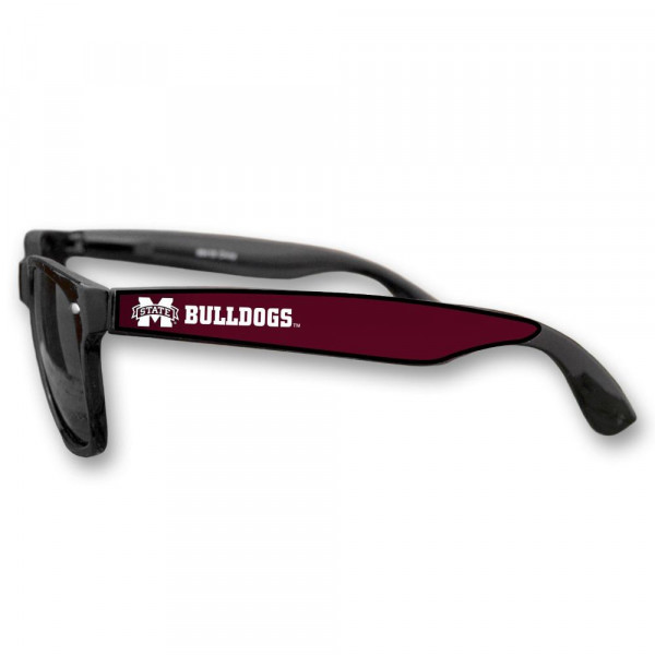 Officially licensed sunglasses with university logo.