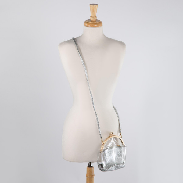 """Clear cross body purse. 8"""" x 5"""""""