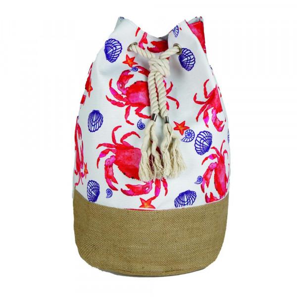 """Crab beach bag18 1?4"""" x 18 1?4"""" x 11"""""""