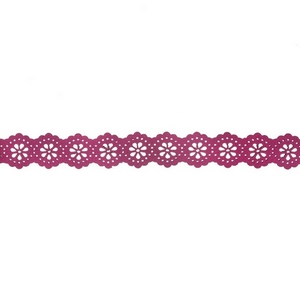 "Gold tone and pink faux leather choker with a laser cut pattern. Approximately 12"" in length."