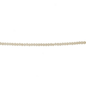 """Gold tone, dainty choker featuring ivory faceted beads. Approximately 12"""" in length."""