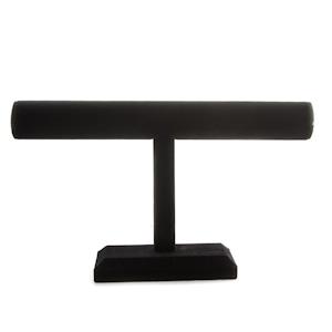 7 inch tall black TBAR display
