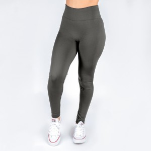 New Kathy / New Mix charcoal gray, summer-weight leggings are seamless, chic, and a must-have for every wardrobe. These lightweight, full-length leggings are versatile, perfect for layering, and available in many shades. Smooth fabric, 92% Nylon 8% Spandex. One size fits most, fits US women's 0-14.