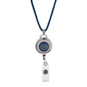 """Officially licensed University of Florida lanyard and ID holder with a break-away cord. Approximately 32"""" in length."""