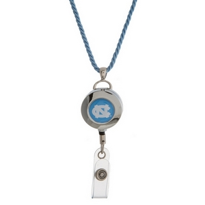 """Officially licensed University of North Carolina lanyard and ID holder with a break-away cord. Approximately 32"""" in length."""