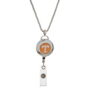 """Officially licensed University of Tennessee lanyard and ID holder with a break-away cord. Approximately 32"""" in length."""