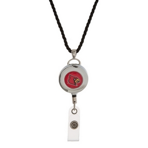 """Officially licensed University of Louisville lanyard and ID holder with a break-away cord. Approximately 32"""" in length."""