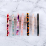 Wholesale hair clip resin inspired details