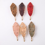 Wholesale feather inspired hair pin cork details