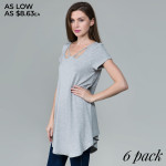 Wholesale basic tunic dress looks feels amazing it s highly versatile neck line