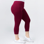 Wholesale plus Mix Brand peach skin capris seamless chic must have every wardro