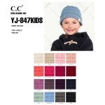 Wholesale yJ KIDS original C C beanie kids acrylic diameter Approximate fit todd