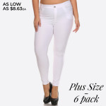 Wholesale women s Classic Solid Skinny Jeggings jeggings styled resemble pair je