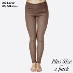 Wholesale pACK Plus Premium denim back pocket ankle jeggings made premium stret