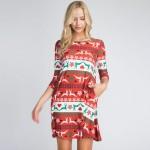 Wholesale dress inspire rock Christmas tree everyone dancing merrily old fashio